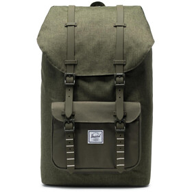 Herschel Little America Backpack olive night crosshatch/olive night